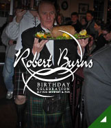Sly Fox Robert Burns Birthday Celebration