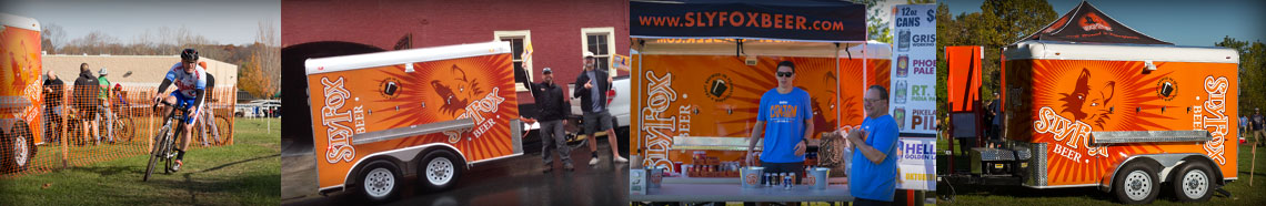 Sly Fox Beer Draft Trailer, Beer for your event