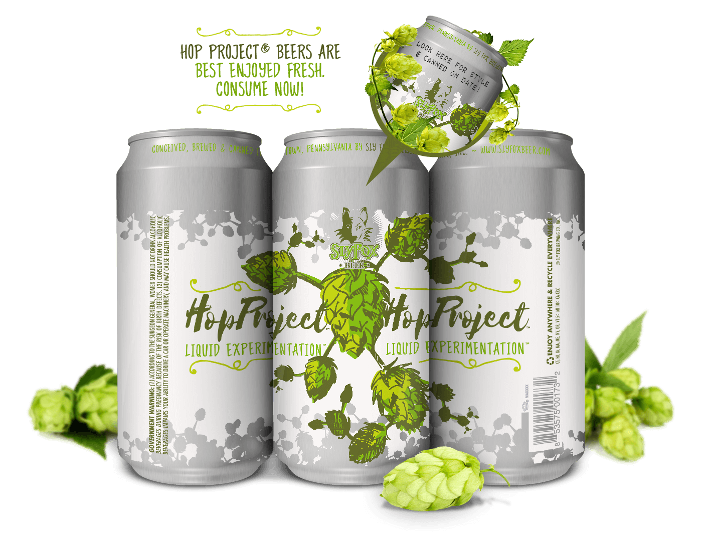 Sly Fox Hop Project Limited Release Beer Series