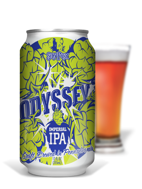 Sly Fox Odyssey Imperial IPA Imperial India Pale Ale