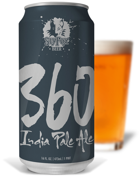 Sly Fox 360 IPA Dry-Hopped India Pale Ale